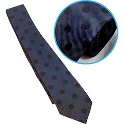 新日本プロレス×京織物 ネクタイ 紺×黒