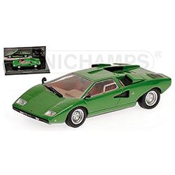 MINICHAMPS1/43 ランボルギーニ カウンタック LP400 1970 (グリーン) ミュージアムシリーズ