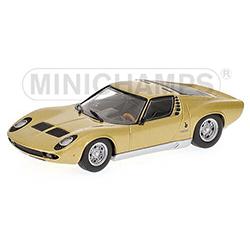 MINICHAMPS1/43 ランボルギーニ ミウラ S 1969 (ゴールド) ミュージアムシリーズ