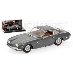 MINICHAMPS1/43 ランボルギーニ 400 GT 2+2 1966 (グレー) ミュージアムシリーズ