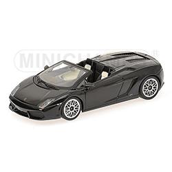 MINICHAMPS1/43 ランボルギーニ ガヤルド LP560-4 スパイダー 2009 (ブラック)