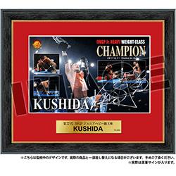 新日本プロレス '17 6.11 直筆サイン入りフォトフレーム KUSHIDA