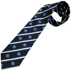 新日本プロレス 京都洛コラボ ネクタイ 紺