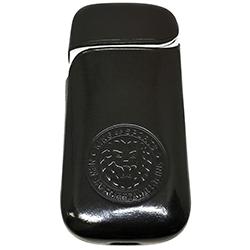 新日本プロレス IQOSケース イタリアンレザー ブラック