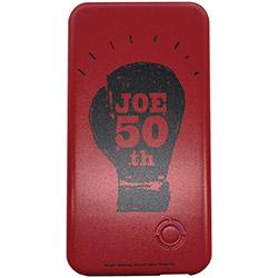 あしたのジョー モバイルバッテリー 50thロゴ赤