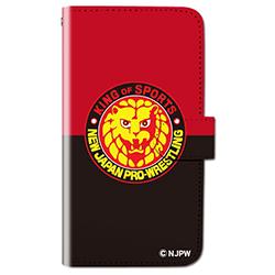新日本プロレス スマートフォンケース(手帳型)ライオンマーク 001