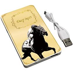 スーパーホース列伝 ディープインパクト モバイルバッテリー