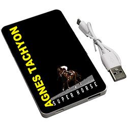 スーパーホース列伝 アグネスタキオン モバイルバッテリー