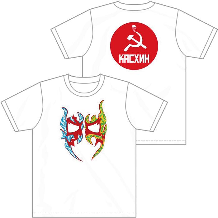 ケンドー・カシン Tシャツ ホワイトM〜XL