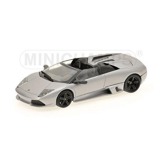 MINICHAMPS1/43 ランボルギーニ ムルシエラゴ LP640 ロードスター 2007 (グレーメタリック)