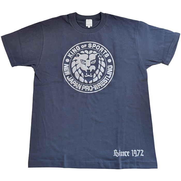 新日本プロレス×久米繊維 Tシャツ 藍鉄×銀