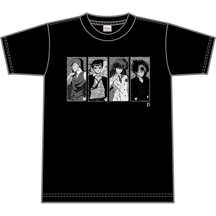 幽☆遊☆白書25th 久米繊維コラボTシャツ Aタイプ