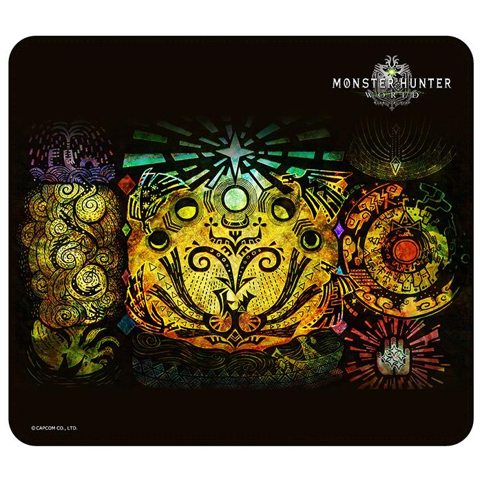 モンスターハンター:ワールド マウスパッド 5匹の竜の話