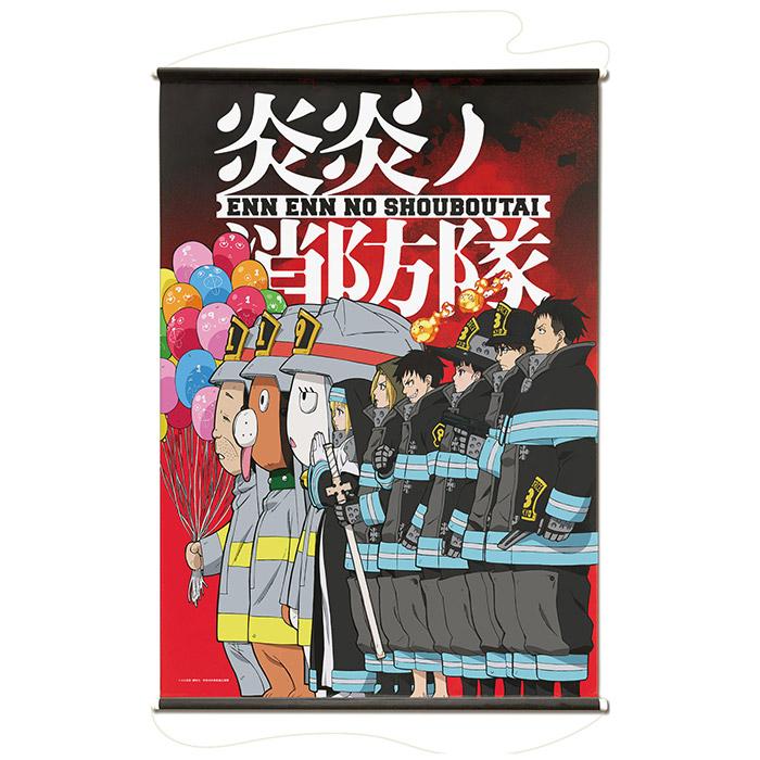 炎炎ノ消防隊 B2タペストリー 第2弾ビジュアル