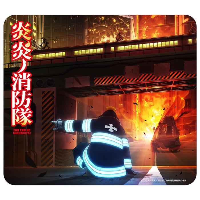 炎炎ノ消防隊 PUレザーマウスパッド
