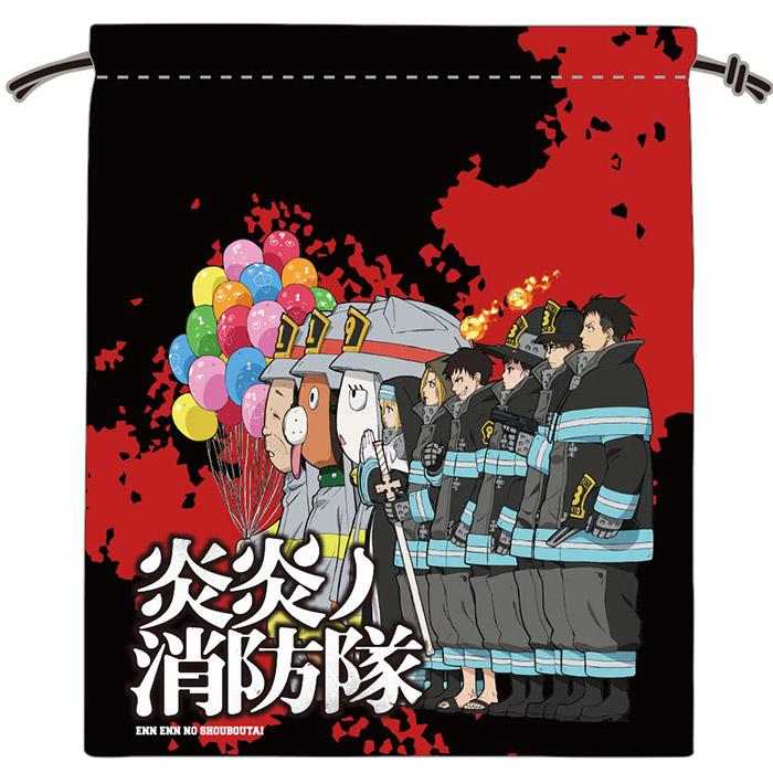 炎炎ノ消防隊 巾着 第2弾ビジュアル