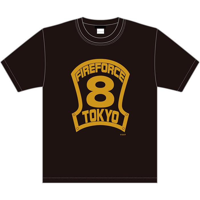 炎炎ノ消防隊×久米繊維 コラボTシャツ