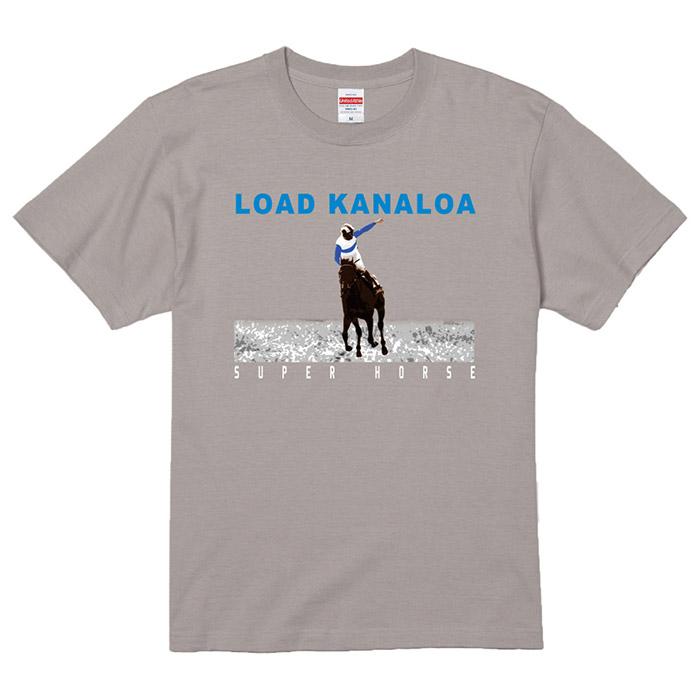 スーパーホース列伝 ロードカナロア プリントTシャツ