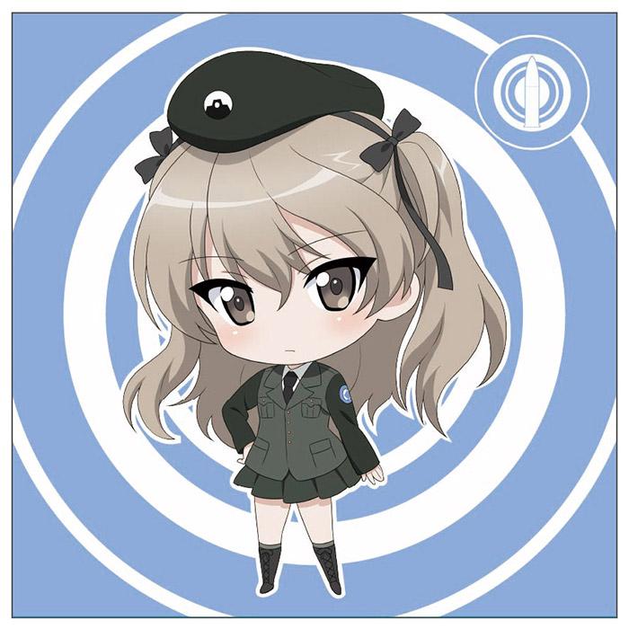 ガールズ&パンツァー クッション 大学選抜チーム 島田愛里寿